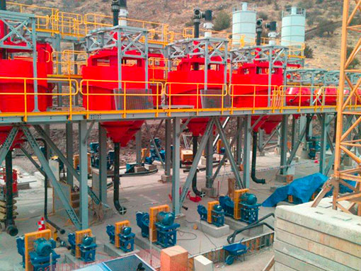 Largest Copper Flotation Plant delivered