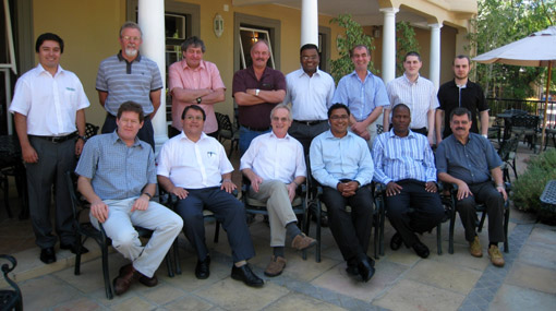 Maelgwyn Mineral Services Internal Conference, Franschoek, South Africa