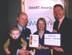 MMS receive Smart Wales awards for G-Cell R&D
